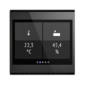 Cala Touch KNX TH, zwart (3.0)