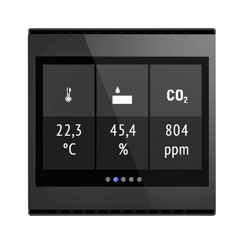 Elsner Cala Touch KNX AQS/TH 3.0 (Zwart)